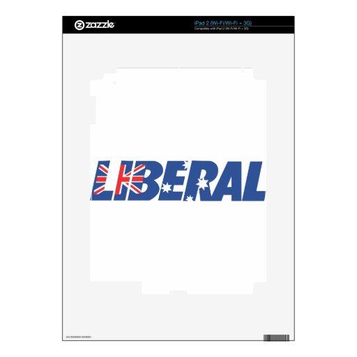 Partido liberal de Australia Calcomanías Para iPad 2