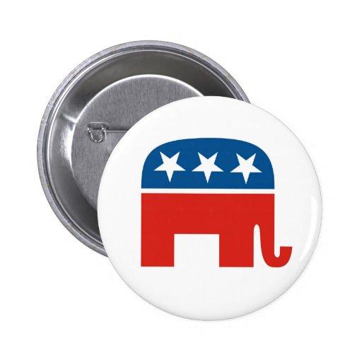 Partido Republicano 2012 Pins