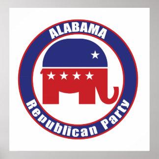 Partido Republicano de Alabama Posters