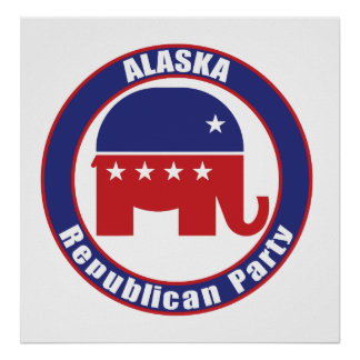 Partido Republicano de Alaska Poster