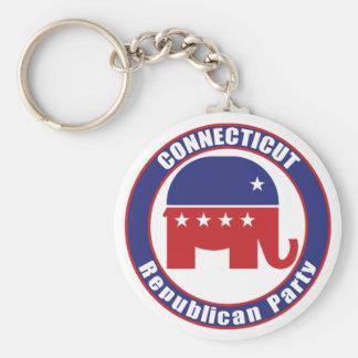 Partido Republicano de Connecticut Llaveros