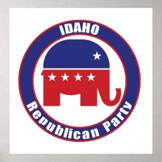 Partido Republicano de Idaho Poster