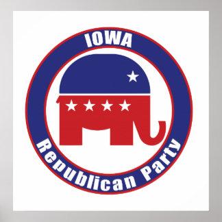 Partido Republicano de Iowa Poster