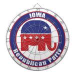 Partido Republicano de Iowa Tablero De Dardos