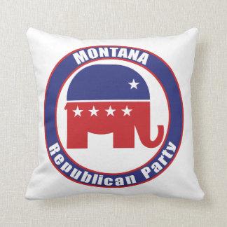 Partido Republicano de Montana Cojines