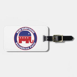 Partido Republicano de New Hampshire Etiquetas Bolsa