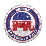 Partido Republicano de Oregon Tablero Dardos