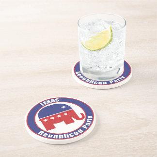 Partido Republicano de Tejas Posavasos Diseño