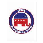 Partido Republicano de Tejas Tarjeta Postal