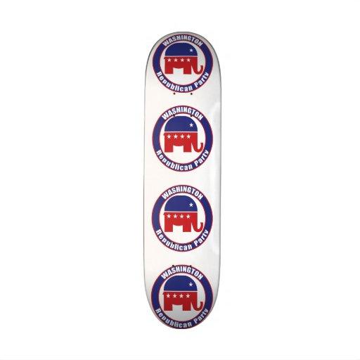 Partido Republicano de Washington Patin Personalizado