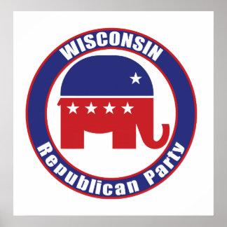 Partido Republicano de Wisconsin Poster