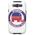 Partido Republicano de Wyoming Galaxy S3 Cárcasa