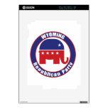 Partido Republicano de Wyoming Calcomanía Para iPad 2