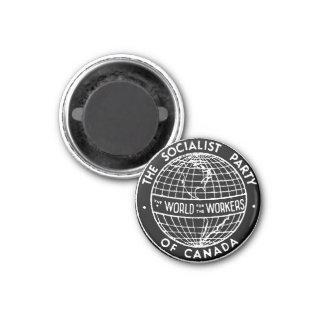 Partido Socialista de pequeño imán negro de Canadá