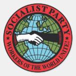 PARTIDO SOCIALISTA LOS E.E.U.U. PEGATINAS