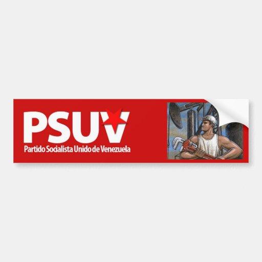 Partido Socialista venezolano Hugo Chavez Pegatina Para Auto