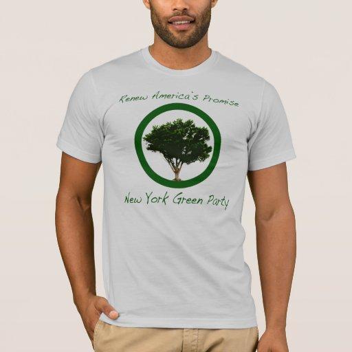 Partido Verde de camiseta de Nueva York