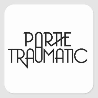 Partie Traumatic Logo Sticker #3