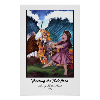 Parting the Red Sea Print