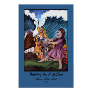 Parting the Red Sea Print - Customized