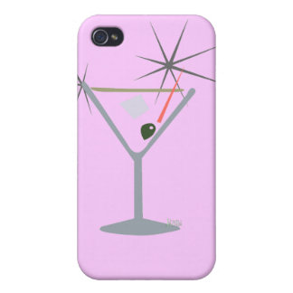 Partini Martini Glass iPhone 4 Case