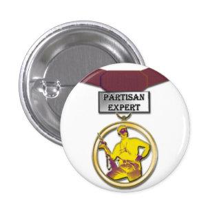 Partisan Expert medal button