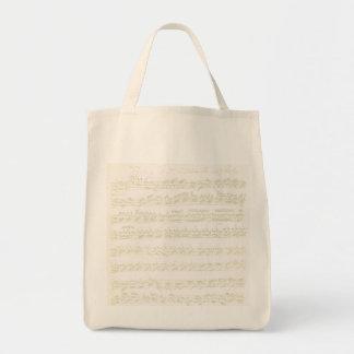 Partita empaquetado bolsa tela para la compra
