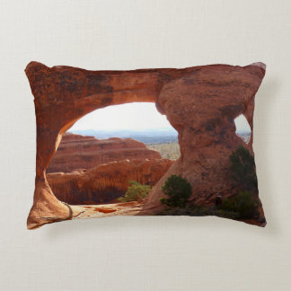 Partition Arch at Arches National Park Accent Pillow