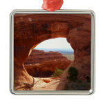 Partition Arch at Arches National Park Metal Ornament