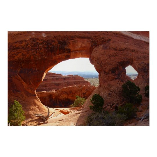 Parion Arch At Arches National Park Poster