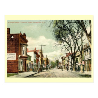 Partition St., Saugerties, New York Vintage Postcard