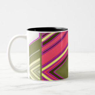 Partition Striped Mug