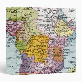 PARTITIONED AFRICA, 1914 BINDER