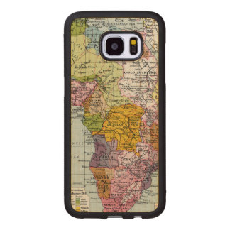 PARTITIONED AFRICA, 1914 WOOD SAMSUNG GALAXY S7 EDGE CASE