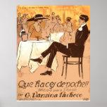 Partitura 1920 de la Argentina de la caricatura de Impresiones