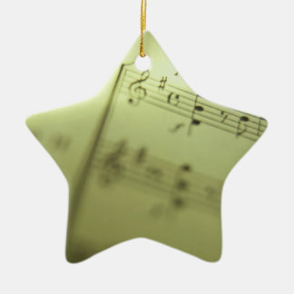 Partitura 1 ornaments para arbol de navidad