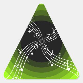 Partitura Adesivo Triângulo