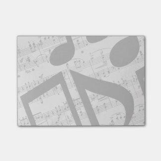 Partitura artsy notas post-it®