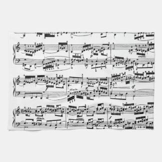 Partitura de Bach Toallas De Mano