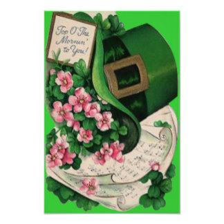 Partitura del gorra del Leprechaun de la flor del Fotografía
