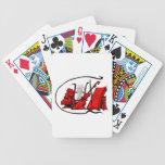partitura roja design.png del violín del lyre del  cartas de juego