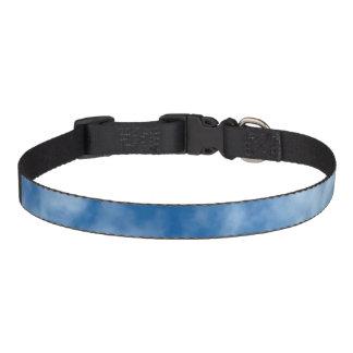 Partly Cloudy Blue Sky Photo on Dog Collar