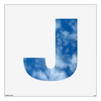 Partly Cloudy Blue Sky Photo Wall Decal
