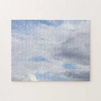 Partly Cloudy Jigsaw Puzzle