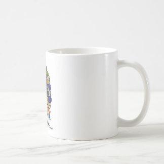 Partly Clowny Classic White Coffee Mug
