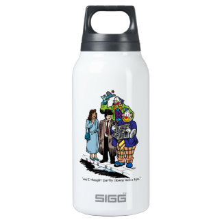 Partly Clowny 10 Oz Insulated SIGG Thermos Water Bottle