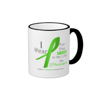Partner Hero In My Life - Lymphoma Coffee Mug