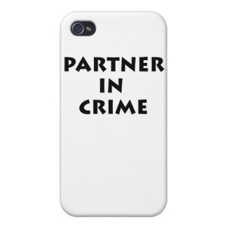 Partner in crime! cases for iPhone 4