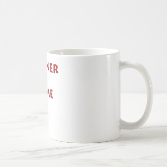 Partner in crime! coffee mug