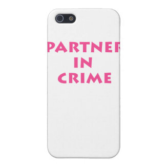 Partner in crime! cover for iPhone SE/5/5s